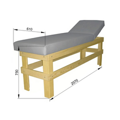 Кушетка массажная деревянная Э-103-МК