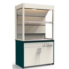 Шкаф вытяжной Демонстрационный подстолье-эконом (столешница-ЛДСП) Э-900-ШВМД
