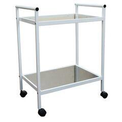Стол манипуляционный Э-041/Н-СПЭ металл/стекло