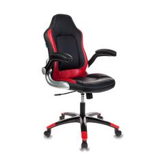 Игровое кресло Бюрократ VIKING-1 черный/красный