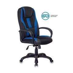 Игровое кресло Бюрократ VIKING-9 черный/синий