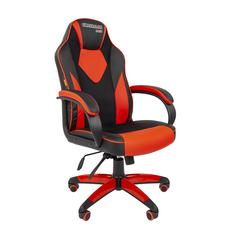 Игровое кресло GAME 17 черный/красный