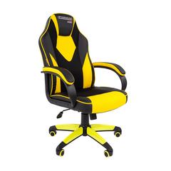 Игровое кресло GAME 17 черный/желтый