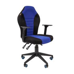 Игровое кресло GAME 8 черный/синий