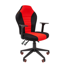 Игровое кресло GAME 8 черный/красный