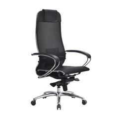 Кресло компьютерное S-1.04 черный плюс
