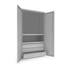Шкаф инструментальный ИШ-1850 (2 полки,3 ящика)